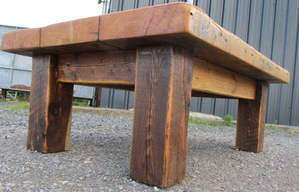 Warehouse coffee table