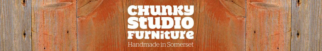 Chunky Studio Furniture for musicians and studios – handmade furniture from Somerset
