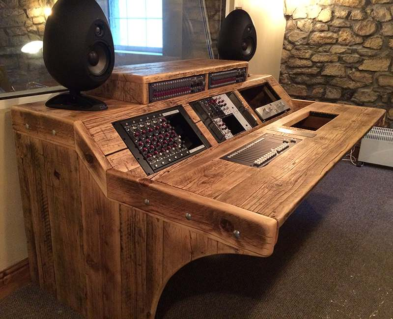 Custom Desks Chunky Studio Furniture For Musicians And Studios