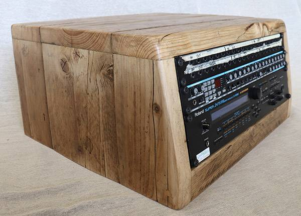 4u angled rack unit - deeper version