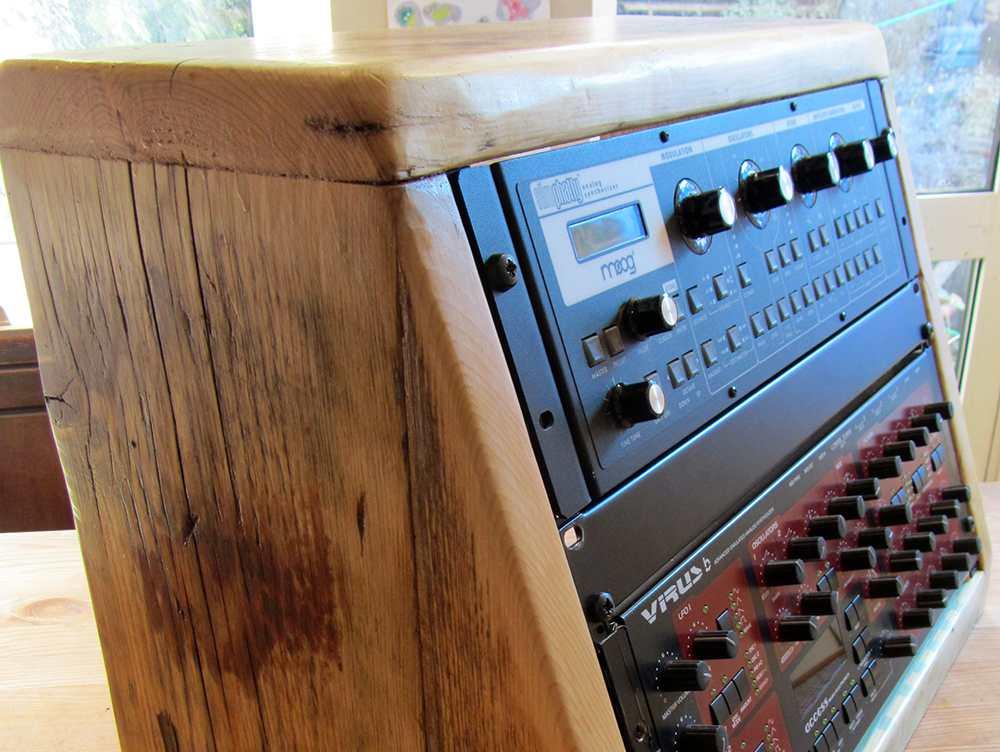 angled rack cabinet