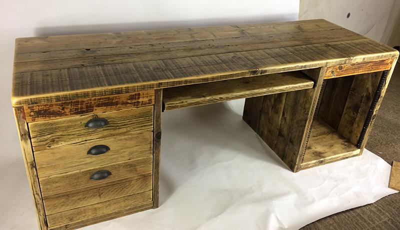 Handmade computer desks