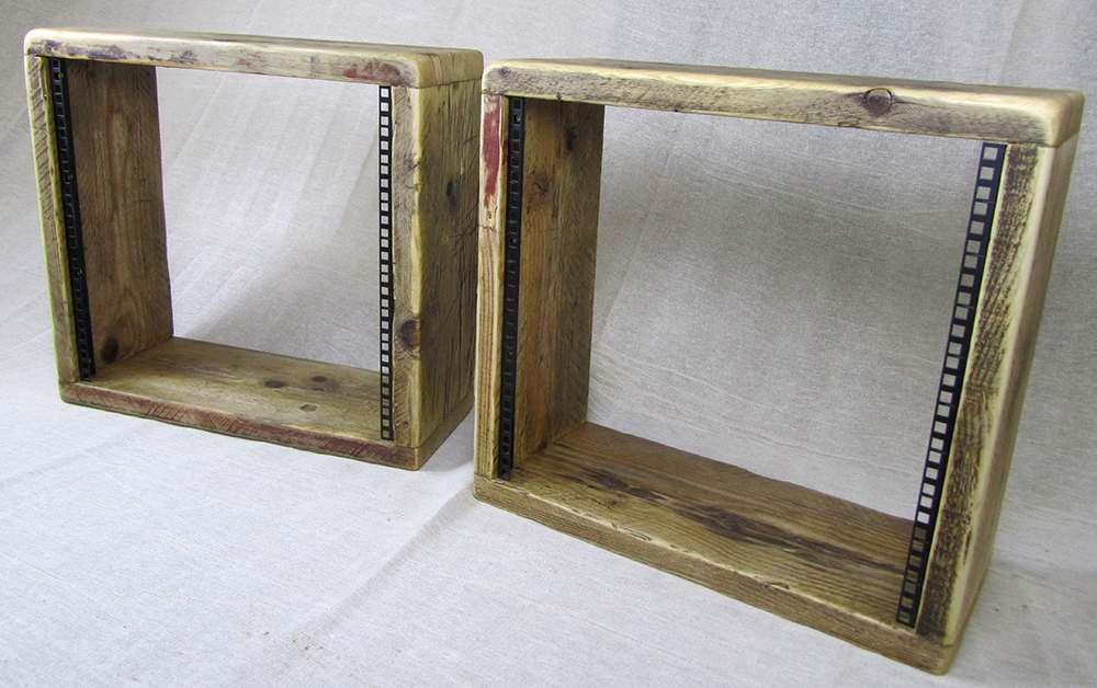 10u wooden studio racks